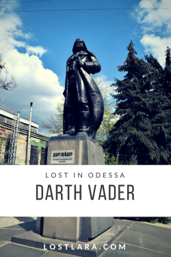 Darth Vader lost in Odessa lostlara.com