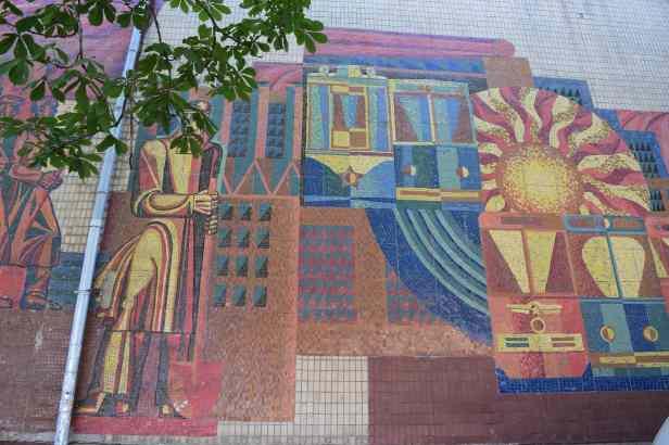 Soviet Mosaics Kharkiv lostlara.com