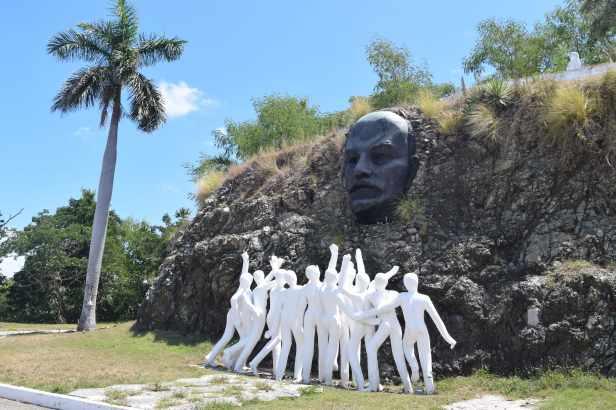 Lenin in Havana lostlara.com